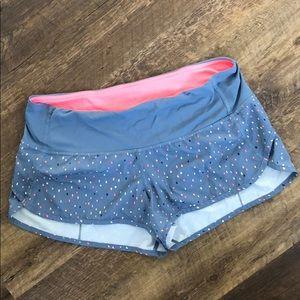 """lululemon athletica Shorts - Lululemon Speed Up Short 4"""""""